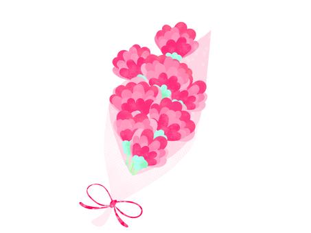 花束心臟充分的康乃馨