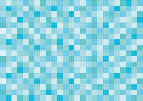 Wallpaper - Patchwork - Blue