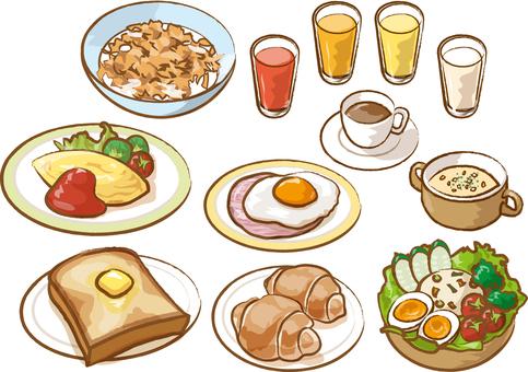 Breakfast Western food
