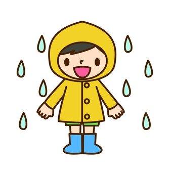 Kindergarten · raincoat