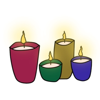 A candle