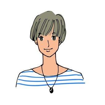 モデル風の男子1