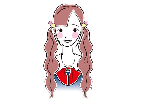 Female _ high school student