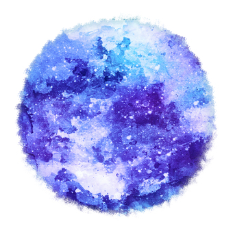 Watercolor circle 5