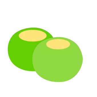 쑥 만두 (흰)