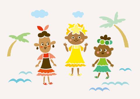Tropical sisters