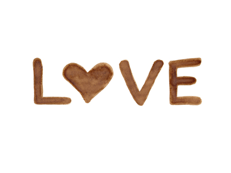 "Coffee letter ""LOVE"" 2"