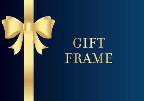 Gift frame 008 blue