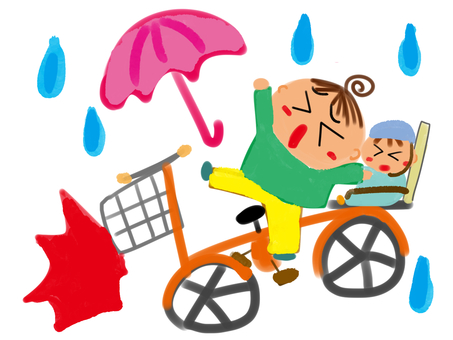Driving an umbrella