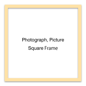 Square frame (natural type)