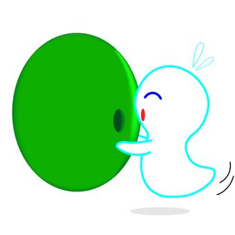 유령의 삽화
