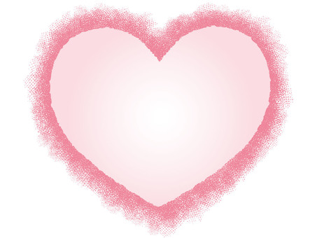 Heart (with pink and gradation)
