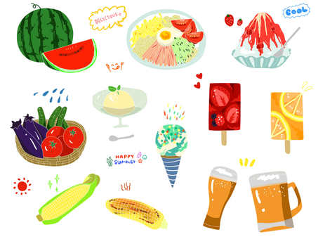 夏天的食物