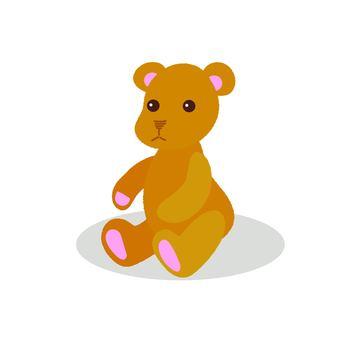 Teddy bear to sit