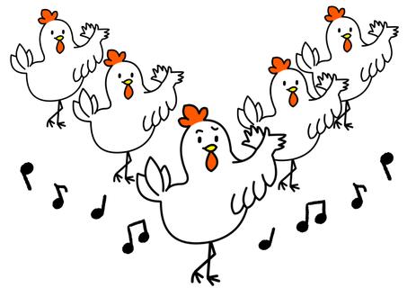 Chicken dance version 5-2