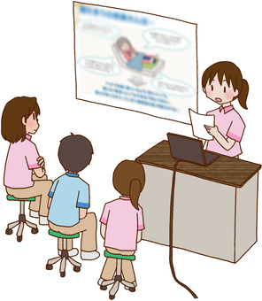 Study group, training, presentation, slide,