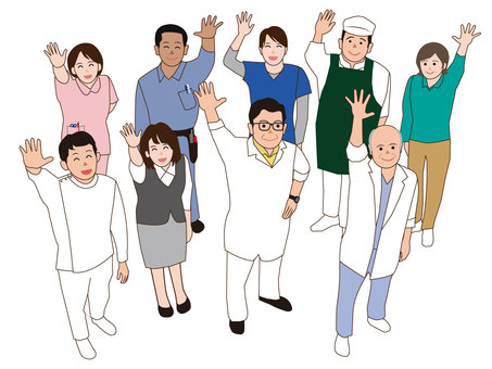 Medical / welfare staff