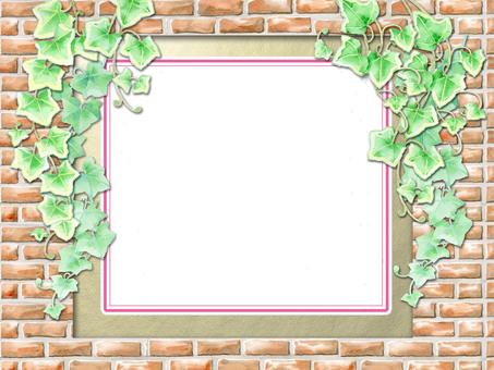 磚和常春藤(白餡餅)★0055-A