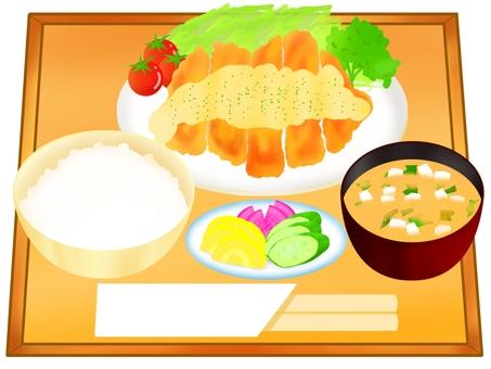 雞南板套餐