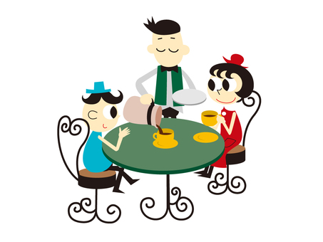 005: Tea time at the cafe