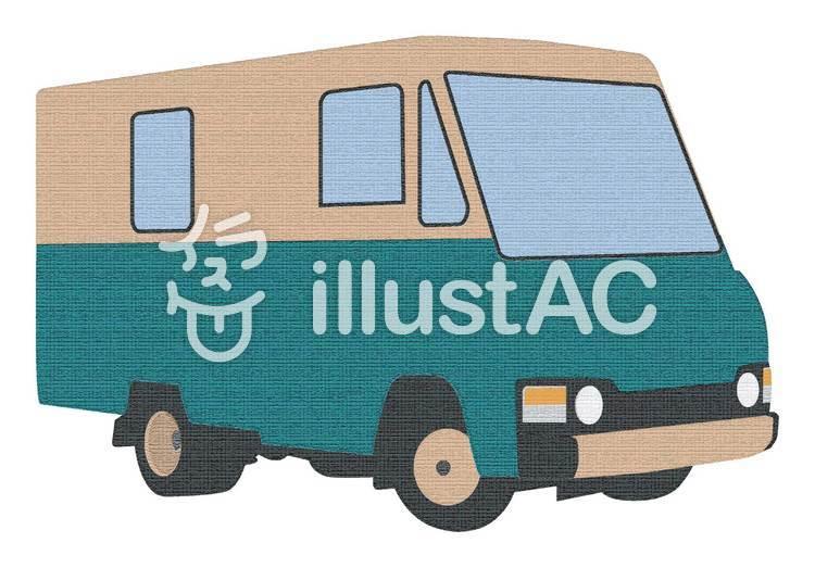 トラック(クラッキング処理)のイラスト