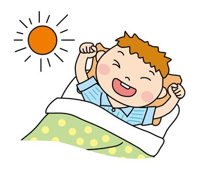 Awakening morning