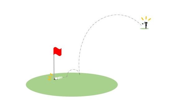 Golf's hole in one