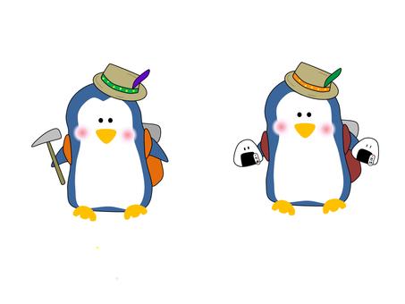 Penguin_sports_登山