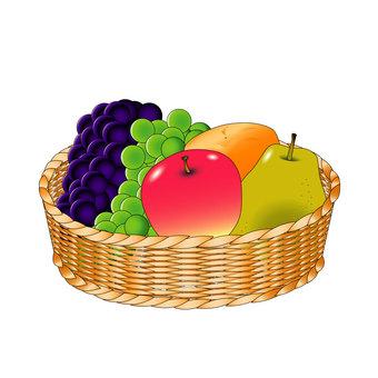 什錦水果拼盤