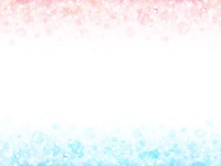 灰塵混合點97(藍色粉紅色)