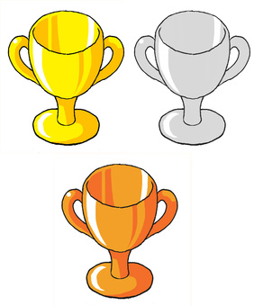 Cup set for recognition