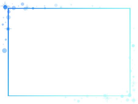 Simple frame (blue)