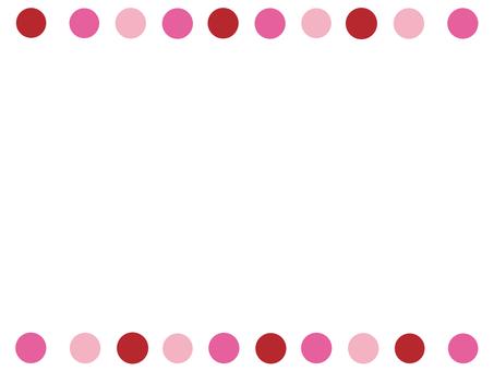 Dots of water polka dots