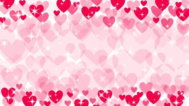 Lovely heart (red)