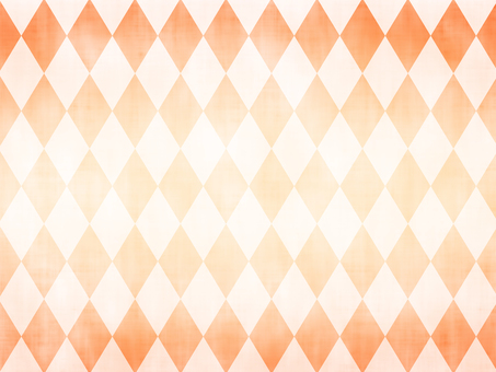Orange simple diamond (Argyle) pattern background
