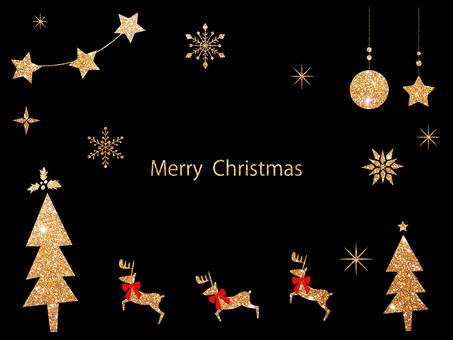 Christmas frame ver 35