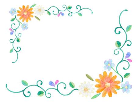 Flower frame ★ 0121-F