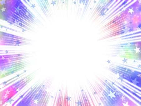 Concentration line x universe purple