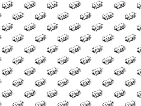Garbage Collector Car handle (monochrome)