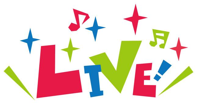 LIVE! ☆ 라이브 ☆ 폿뿌로고 아이콘