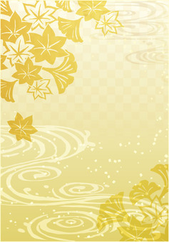Background (and handle 3B 縦 · gold)