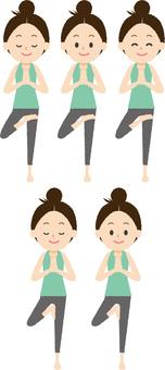 Yoga Standing Pose