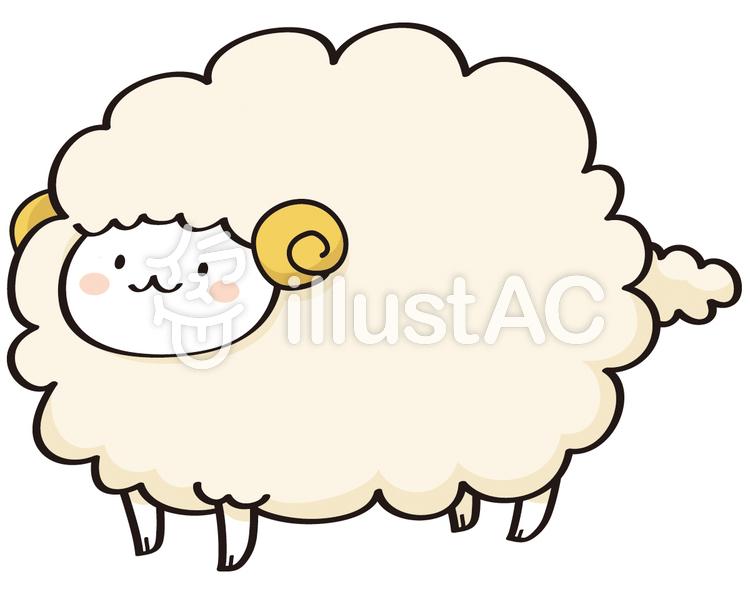 羊イラスト No 110630無料イラストならイラストac