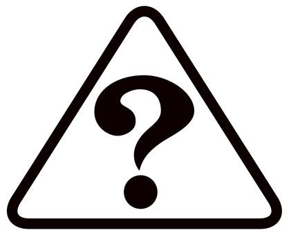 Question mark? Icon mark