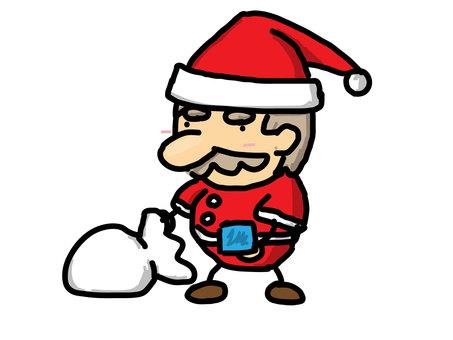 Santa, give present