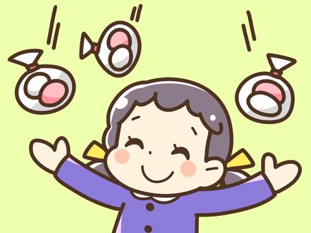 參加Mochimaki的女孩