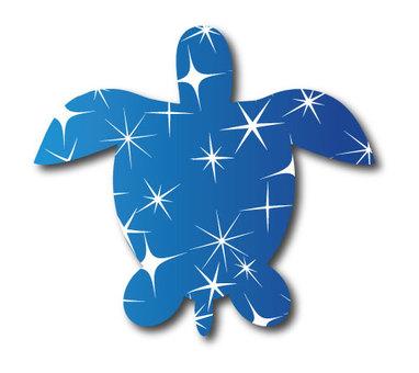 Turtle silhouette 01