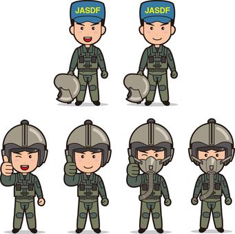 Self-Defense Officer 4 (Men's Air Self-Defense Forces)