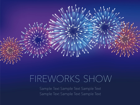 Fireworks background 1