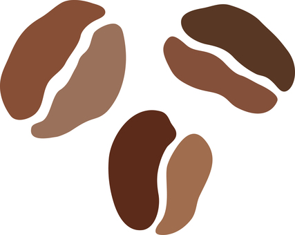 咖啡豆烘焙咖啡咖啡因圖標裝飾